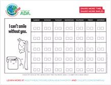 Brushing Calendar